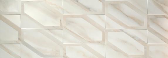 Плитка Fanal Calacatta Gold Hexa Matt 31.6x90 настенная