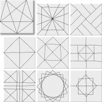 Керамогранит Geomix Pawn 22.3x22.3 Geotiles