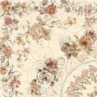 Напольная плитка Decor Celine Cream 33.3x33.3 Goldencer
