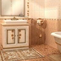 Керамогранит Каменный цветок (Golden Tile)