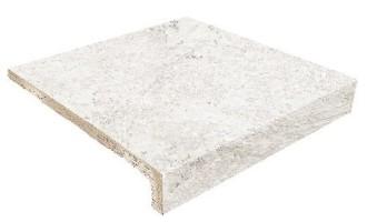 Ступень фронтальная Evolution Peldano Recto Evo White Stone 31x31.7 Gresmanc