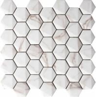 Мозаика 69HE-CA Maritima Hexagonal Calacata 30x30 Grespania