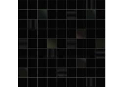 Мозаика Black&White Cubic Black 31.6x31.6 Ibero Ceramicas