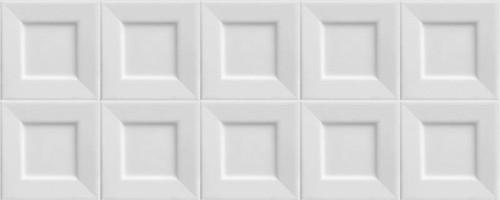 Настенная плитка Black&White Cubic White 20x50 Ibero Ceramicas