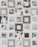 Настенный декор Black&White Decor Bella (3 вида без выбора) 20x50 Ibero Ceramicas