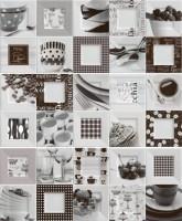Настенный декор Black&White Decor Buffet (3 вида без выбора) 20x50 Ibero Ceramicas