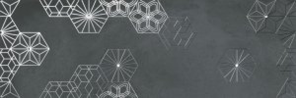 Декор Cromat-One Dec Debod Carbon B 25x75 Ibero Ceramicas