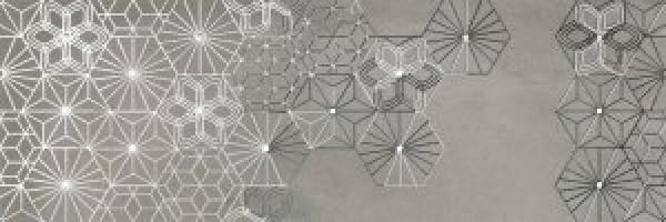 Декор Cromat-One Dec Debod Grey A 25x75 Ibero Ceramicas