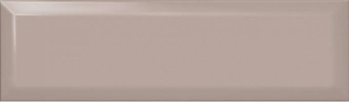 Настенная плитка Аккорд дымчатый светлый грань 9027 8.5x28.5 Kerama Marazzi