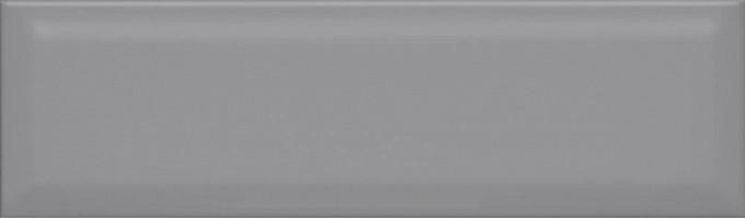Настенная плитка Аккорд серый тёмный грань 9015 8.5x28.5 Kerama Marazzi