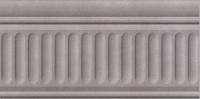 Бордюр Александрия серый 19033/3F 20x9.9 Kerama Marazzi