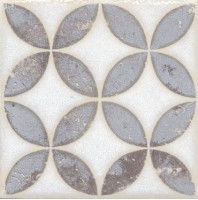 Напольная вставка STG/A401/1266 Амальфи орнамент коричневый 9.9x9.9 Kerama Marazzi