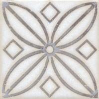 Напольная вставка STG/A402/1266 Амальфи орнамент коричневый 9.9x9.9 Kerama Marazzi
