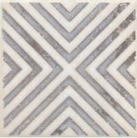 Напольная вставка STG/A403/1266 Амальфи орнамент коричневый 9.9x9.9 Kerama Marazzi