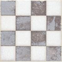 Напольная вставка STG/A404/1266 Амальфи орнамент коричневый 9.9x9.9 Kerama Marazzi
