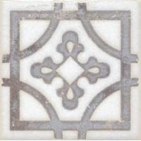Напольная вставка STG/A406/1266 Амальфи орнамент коричневый 9.9x9.9 Kerama Marazzi