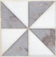 Напольная вставка STG/A407/1266 Амальфи орнамент коричневый 9.9x9.9 Kerama Marazzi