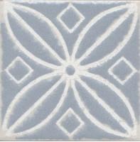 Напольная вставка STG/С402/1270 Амальфи орнамент серый 9.9x9.9 Kerama Marazzi