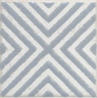 Напольная вставка STG/С403/1270 Амальфи орнамент серый 9.9x9.9 Kerama Marazzi