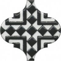 Декор Арабески глянцевый OS/A25/65000 6.5x6.5 Kerama Marazzi