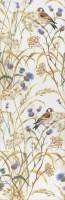 Декор Астория Птицы белый обрезной SST/A02/12105R 25x75 Kerama Marazzi