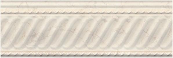 Бордюр Белгравия BBA002R бежевый обрезной 10x30 Kerama Marazzi