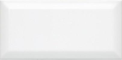 Настенная плитка Бланше 19040 белый грань 20x9.9 Kerama Marazzi