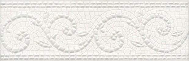 Бордюр обрезной Борсари орнамент HGD/A127/12103R 25x8 Kerama Marazzi