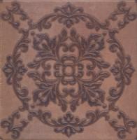 Декор STG/B248/3414 Честер коричневый темный 30.2х30.2 Kerama Marazzi