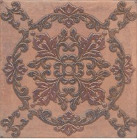 Декор STG/F248/3418 Честер коричневый 30.2х30.2 декор Kerama Marazzi