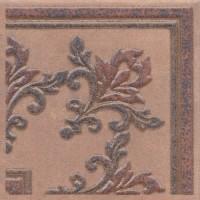 Декоративная вставка STG/F252/3418 Честер коричневый 14.7х14.7 вставка Kerama Marazzi