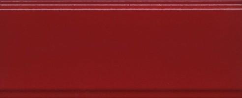 Бордюр BDA003R Даниэли красный обрезной 30х12 Kerama Marazzi