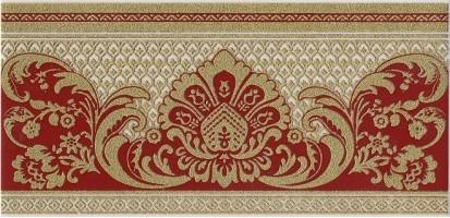 Бордюр HGD/C103/11109R Даниэли красный обрезной 30х14,5 Kerama Marazzi