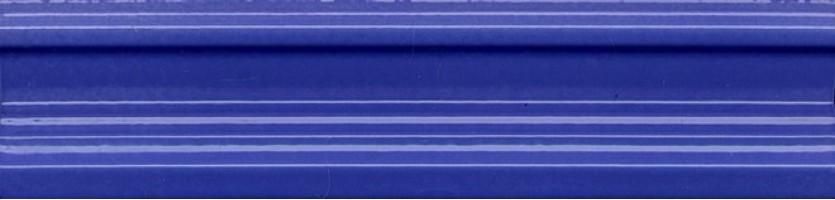 Бордюр BLB005 Девоншир багет синий 5x20 Kerama Marazzi