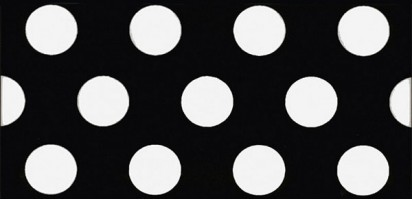 Декор Этуаль AD/A383/16000 чёрный 7.4x15 Kerama Marazzi