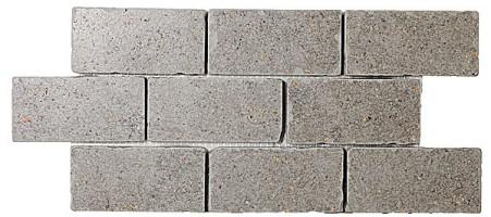 Бордюр мозаичный BR007 Фьорд серый 34.5x14.7 Kerama Marazzi
