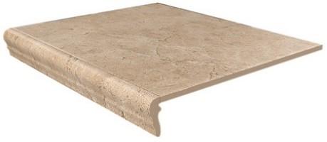 Угловая ступень Фаральони SG158300R/GR/AN песочный 34x34x8 Kerama Marazzi