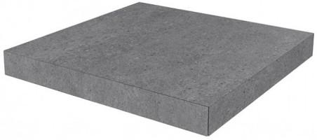 Ступень угловая клееная Фондамента серый темный DL501000R/GCA 33x33 Kerama Marazzi