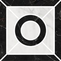 Декор Фрагонар ID94 наборный чёрный 9.9x9.9 Kerama Marazzi