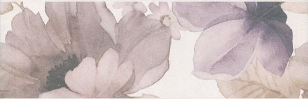 Бордюр Город на воде Цветы обрезной MLD/A76/12106R 25x8 Kerama Marazzi