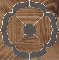 Декор Гранд Вуд ID87 наборный 19.6x19.6 Kerama Marazzi