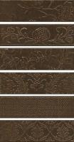 Панно Кампьелло коричневый 51x28.5 (6 частей) AD/D333/6x/2926 Kerama Marazzi