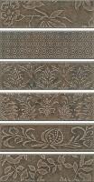 Панно Кампьелло серый 51x28.5 (6 частей) AD/C333/6x/2926 Kerama Marazzi