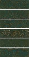 Панно Кампьелло зеленый 51x28.5 (6 частей) AD/E333/6x/2926 Kerama Marazzi