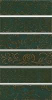 Панно Кампьелло зеленый AD/E333/6x/2914 6 частей 51x28.5 Kerama Marazzi