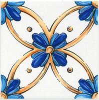 Настенный декор STG/A455/5232 Капри майолика 20x20 Kerama Marazzi