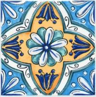 Настенный декор STG/A456/5232 Капри майолика 20x20 Kerama Marazzi