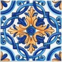 Настенный декор STG/A458/5232 Капри майолика 20x20 Kerama Marazzi