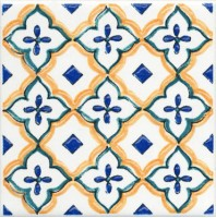 Настенный декор STG/A469/5232 Капри майолика 20x20 Kerama Marazzi