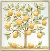 Настенный декор TLA001 Капри Лимонное дерево 20x20 Kerama Marazzi